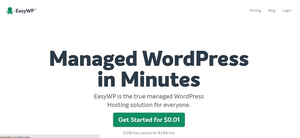 EasyWP WordPress Hosting