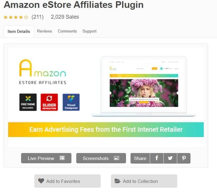 marketing de afiliadosde amazon Amazon eStore Affiliates