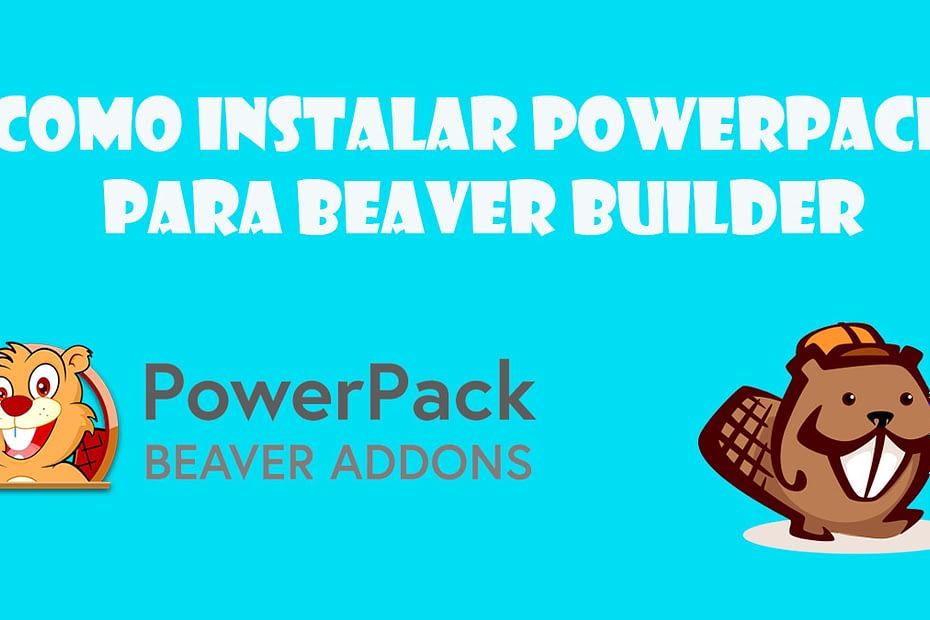 Como instalar powerpack para Beaver Builder