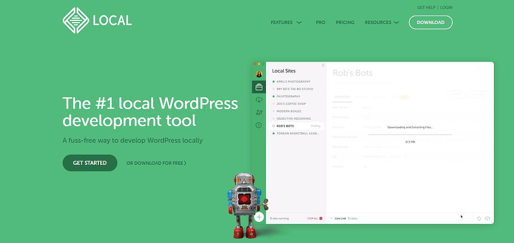 instalar wordpress localmente con localWP