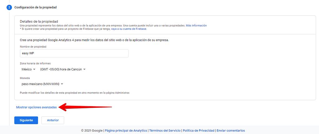 Como crear una cuenta de google analytics paso a paso