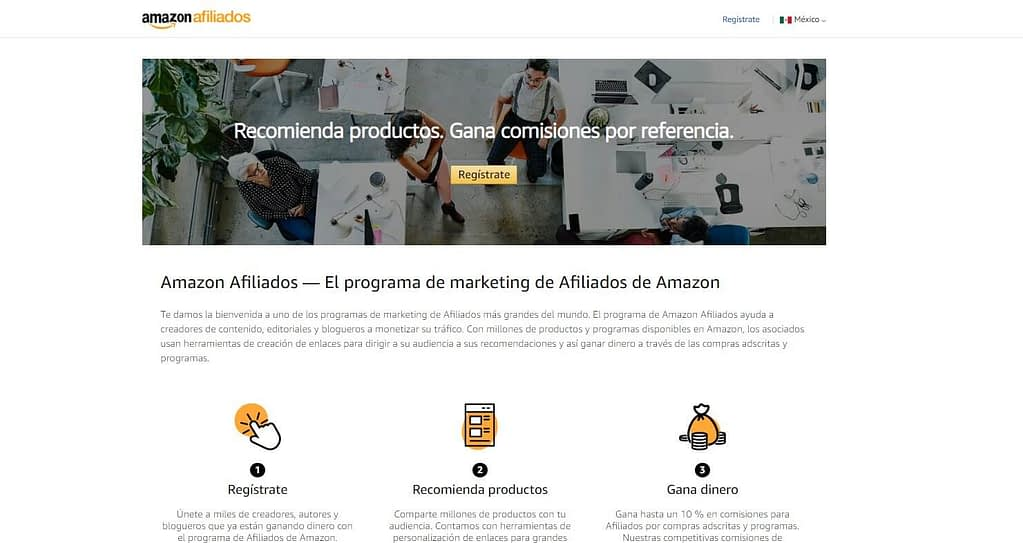 marketing de afiliados de amazon